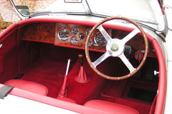 Jaguar XK Red Interior